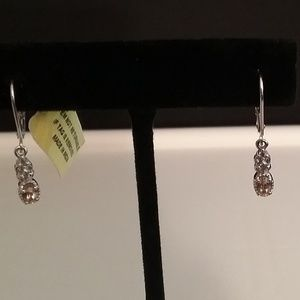 Jewelry - Imperial Topaz & Tanzanite Earrings NWT